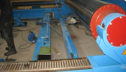 Modification sur site de machine existante