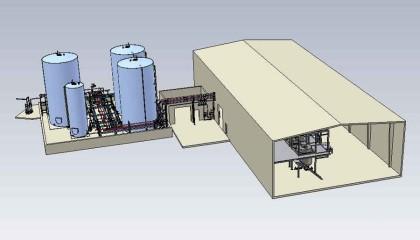 Implantation de materiels dans une usine