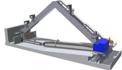 Machines diverses <h6>réalisées pour Claudius Peters Technologies SAS(www.claudiuspeters.com)</h6> <br /><h3>Machines :  Reclaimer &#8211; Stacker &#8211; Tripper Car &#8211; Emotteur</H3>